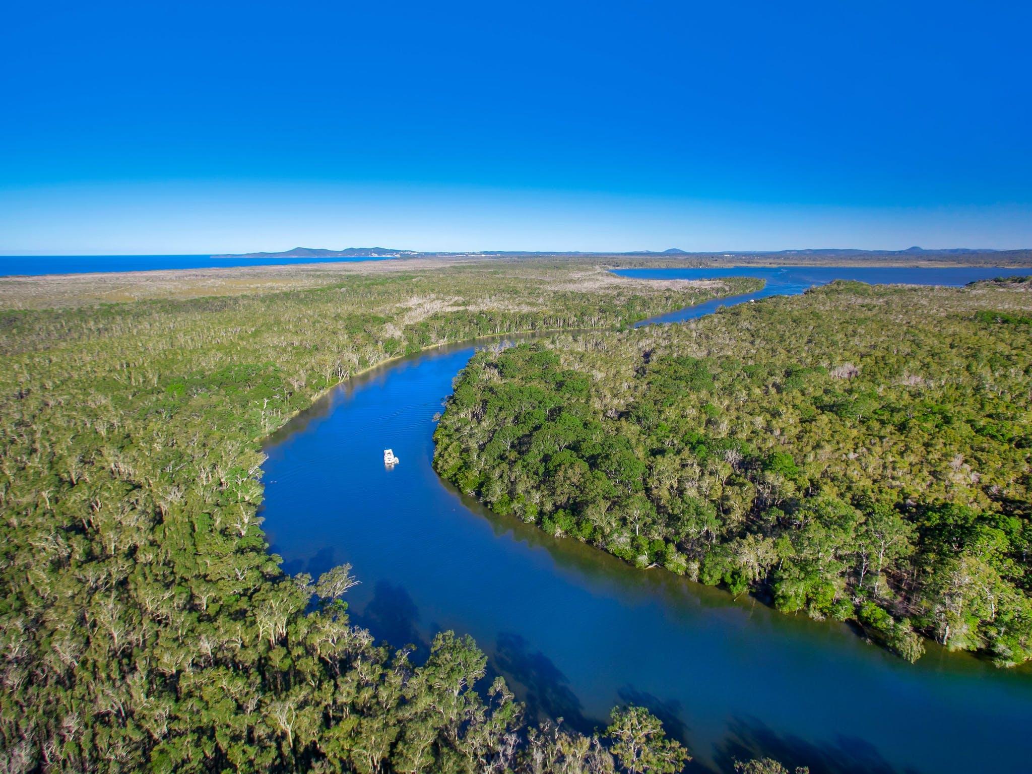 Noosa Everglades Queensland Australien