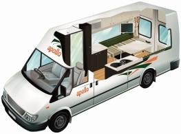 Apollo Euro Tourer Camper Innenraumübersicht