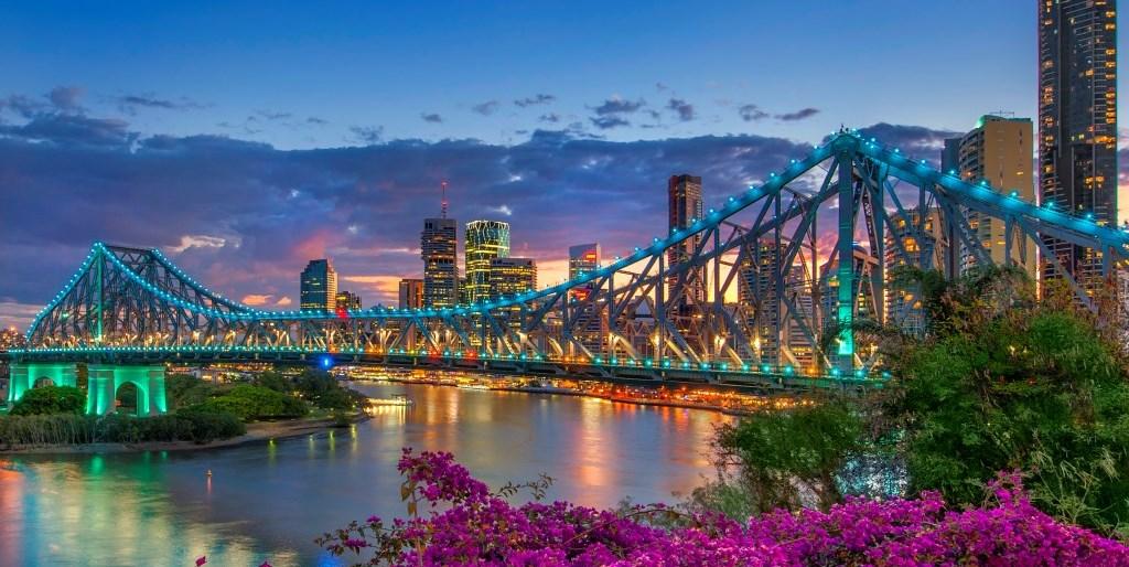 Sunset Brisbane Queensland