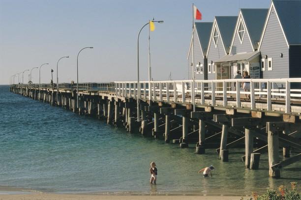Busselton Jetty Westaustralien WA
