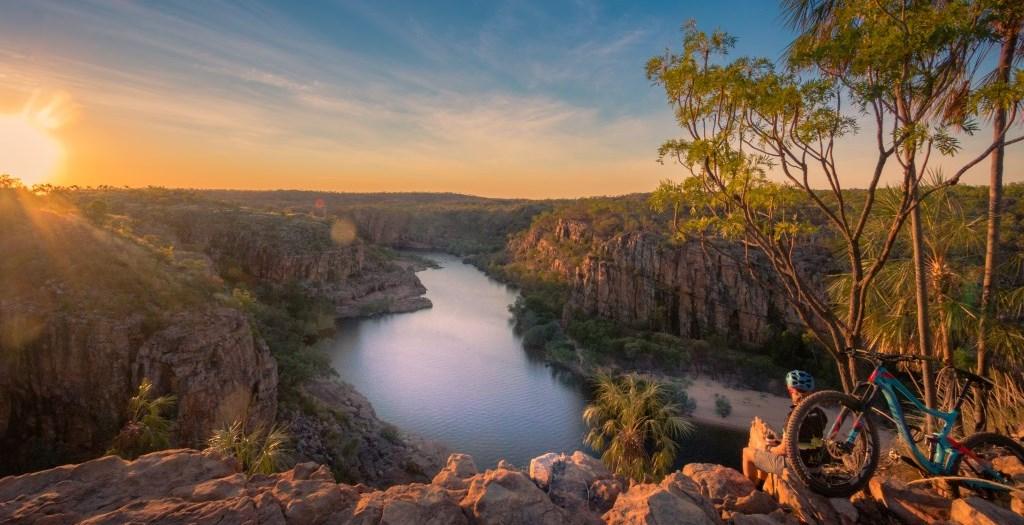 Ausblick auf Katherine Gorge Nitmiluk Nationalpark Northern Territory
