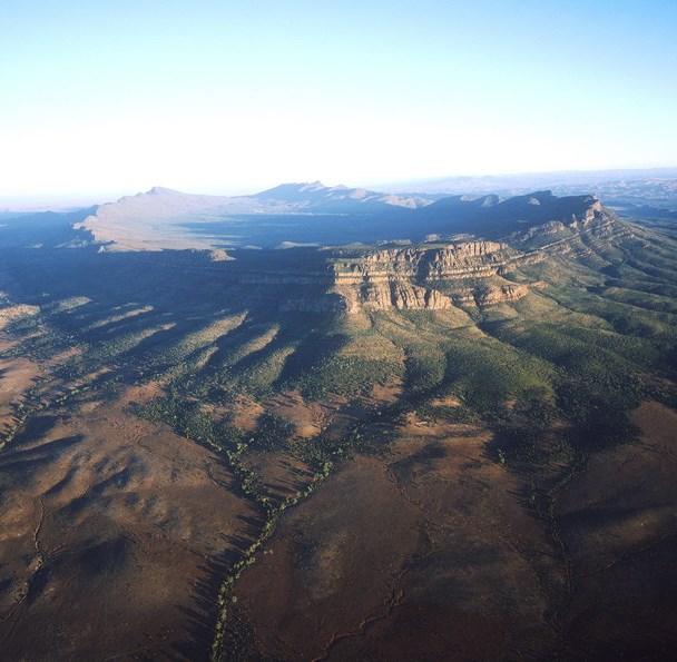 Wilpena Pound Flinders Ranges Südaustralien Australien