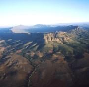 Wilpena Pound Flinders Ranges SA Australien Quadrat