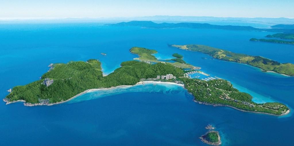 Luftaufnahme Hamilton Island Whitsundays Queensland