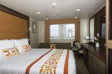 Junior Suite ohne Balkon Aranui 5 Marquesas Inseln Französisch Polynesien Tahiti