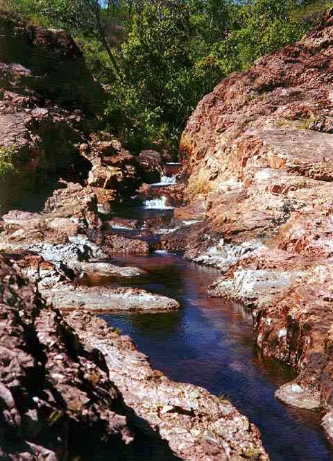 Buley Rock Holes Litchfield Nationalpark Northern Territory NT Australien