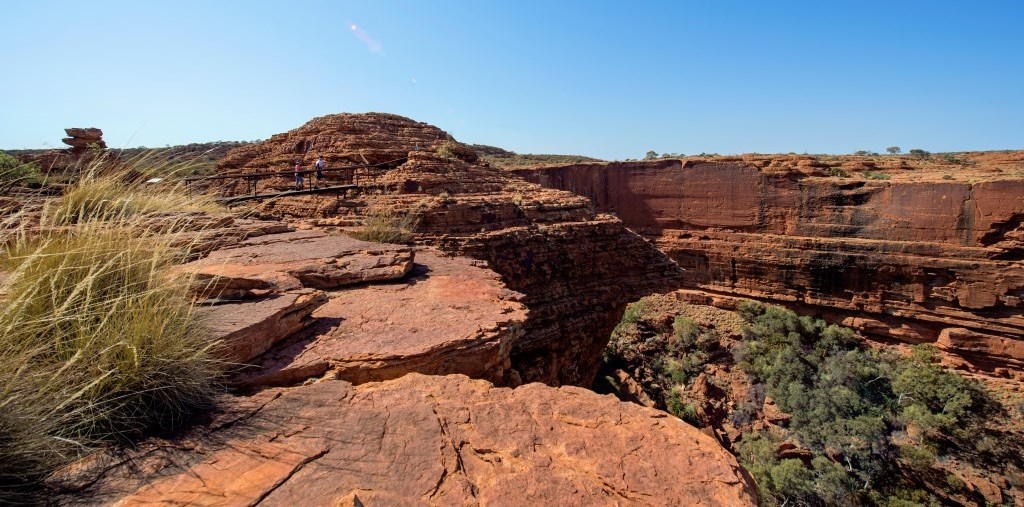 Rim Walk Kings Canyon Watarka Nationalpark Northern Territory