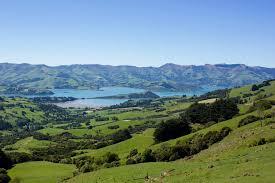 Banks Peninsula Akaroa Neuseeland