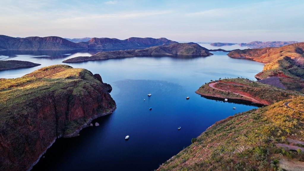 Lake Argyle Kununurra Kimberleys Westaustralien