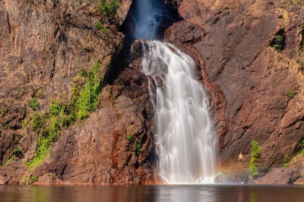Wangi Falls Pool Litchfield Nationalpark Northern Territory