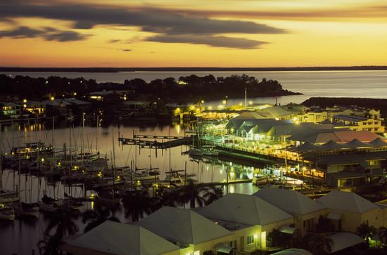 Hafen Darwin bei Sunset Northern Territory NT Australien