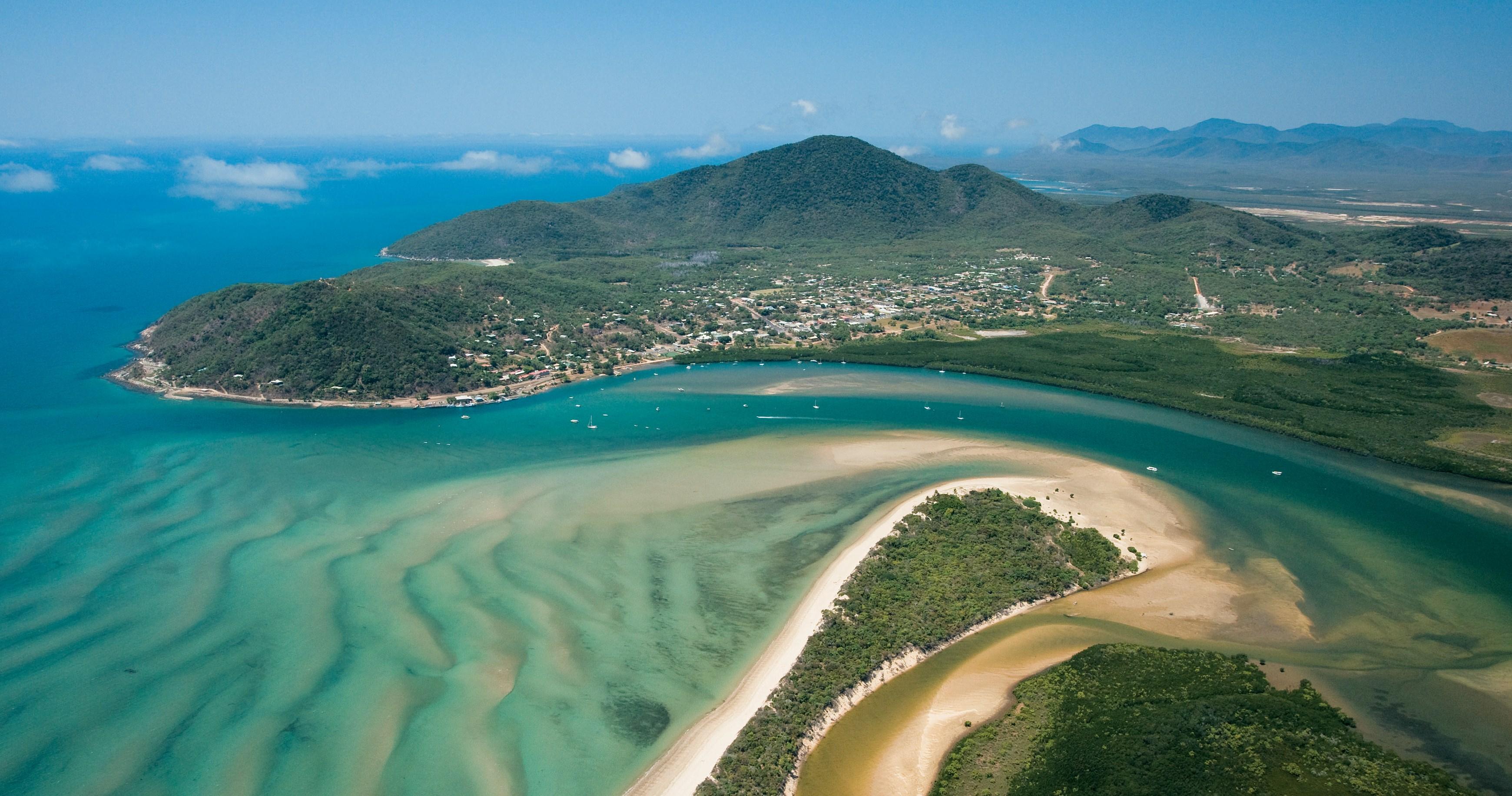 Luftaufnahme Cooktown Queensland