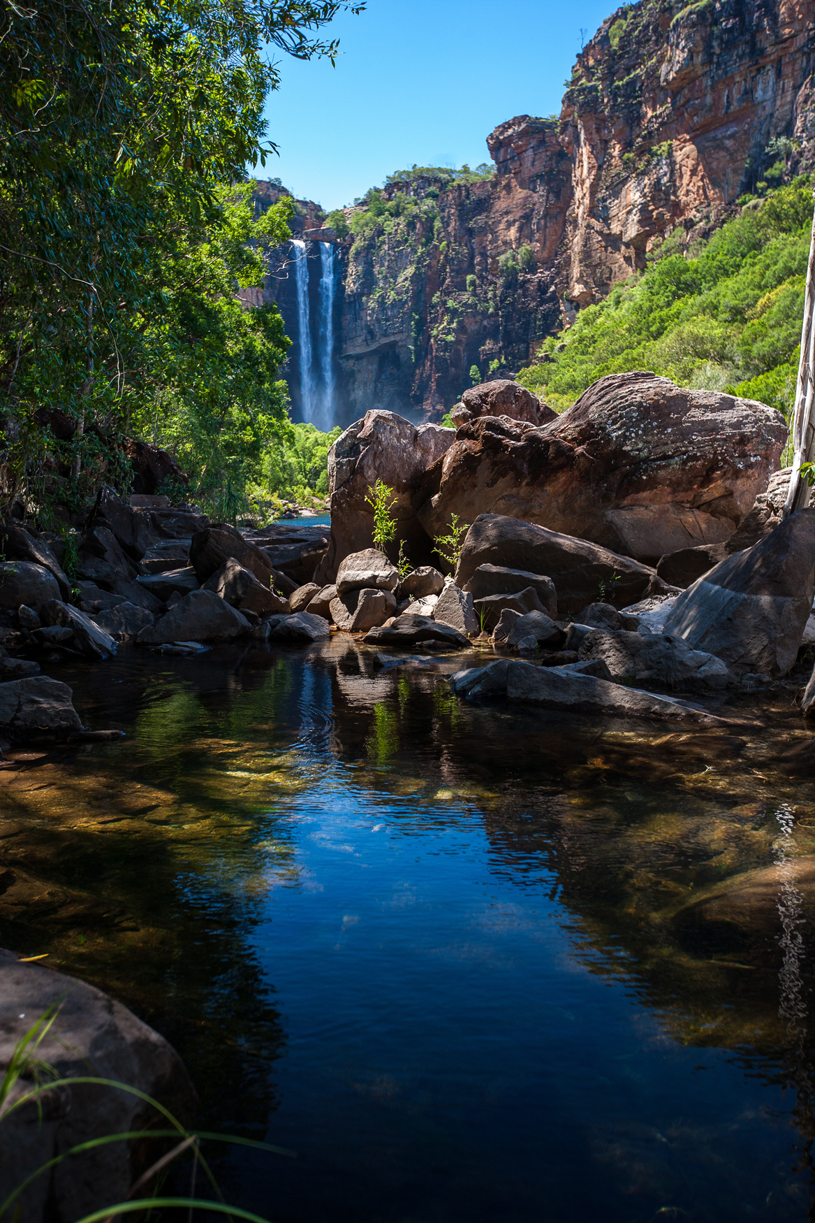 Jim Jim Falls Kakadu Nationalpark Northern Territory NT Australien