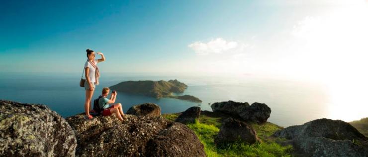 Ausblick Fidschi Fiji Header
